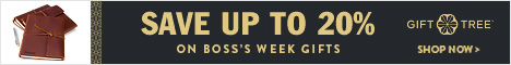 Save Up To 20% Boss's Week Gifts