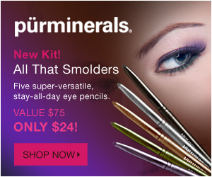 Try our New All that Smolders 5-Piece Super-Versatile Eye Pencil Kit - no promo code needed!