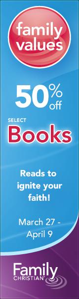 50% off Select Books