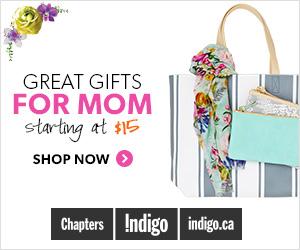 Great Gifts for Mom Starting at $15 at Indigo.ca!