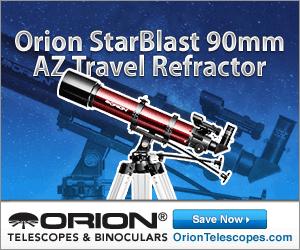 Orion StarBlast 90mm AZ Travel Refractor