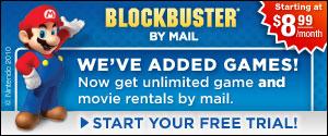 Blockbuster - We've Added Games!