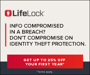 Protect against Identity Theft with LifeLock. 10% off plus 30 Days Risk Free