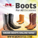 Large Men's Boot Selection!