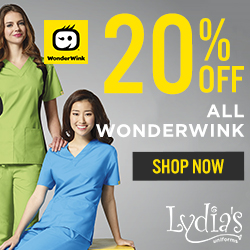 20% Off All WonderWink Scrubs @Lydia's