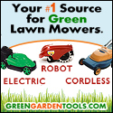 green lawn mowers,Robotic Lawn Mowers and More - Go Green and SAVE!