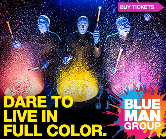 Blue Man Group Ticketing Las Vegas, up to 30% Off Box Office price