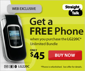 LG220C - Unlimited - Free Phone