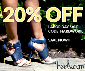 Heels.com Labor Day Weekend Sale - 20% Off
