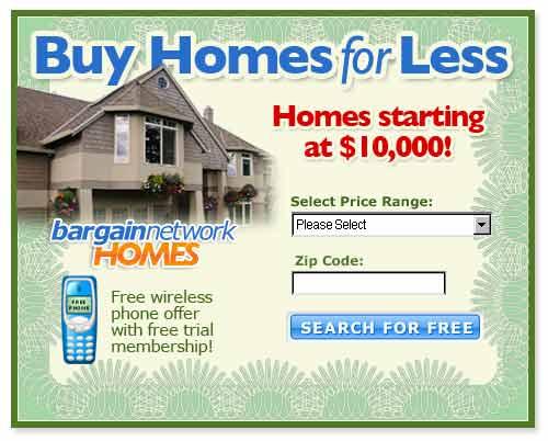 www.bargain.com -- foreclosures