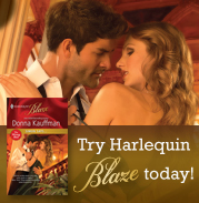 Try Harlequin Blaze and get 2 FREE books!
