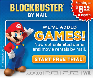 Blockbuster - We've Added Games!