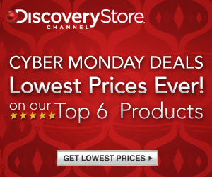 Discovery Channel Cyber Monday - up to 75% off!
