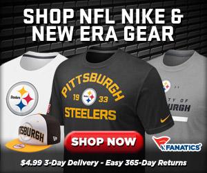 Football Fanatics Steelers Store