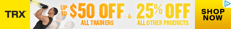 TRX Improve Your Move Sale - Up To $50 OFF All Trainers and 25% OFF All Other Gear