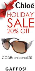 20% Off on Chloe Sunglasses