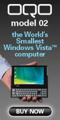 OQO model 02: world's smallest Windows Vista� PC