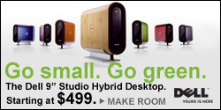 Studio Hybrid Go Small. Go Green.
