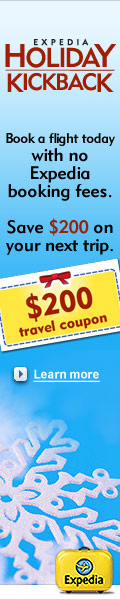 Expedia Holiday Kickback Coupon