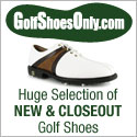 Golf Shoes Only - The best selection at the best prices.
