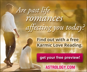 Try a free sample Karmic Love Reading from Astrology.com!