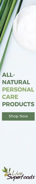 All-Natural Personal Care - Shop now at Live Superfoods