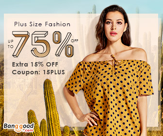 15% OFF Coupon for Women Plus Size Fashion