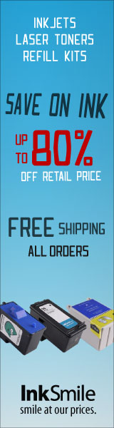 Free shipping on printing supplies, Save on Ink