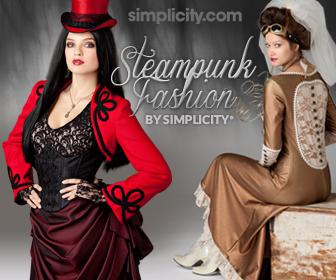 Steampunk Fashion at Simplicity.com