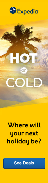 Hot or Cold: Where Will Your Next Holiday Be? Book with Expedia!