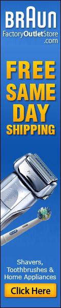 FREE Shipping on Braun Shavers,Toothbrush
