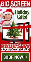 PaulsTV - The King of Big Screen for the Holidays