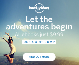 Lonely Planet 30% off everything July sale