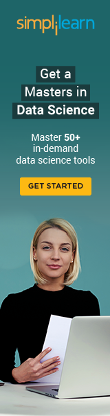 160x600 Data Science Certification Training - Work with Experts
