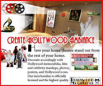 Create Hollywood Ambiance for your Home Theater - home theater, home theatre, movie room, media room, home theater accessories, home theater store, home cinema, cinema, theater, theatre, home theater decorating, home theater decor, home theaters, home theatres, living room, dvds, blu-ray discs, home theater system