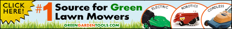 Robotic Lawn Mowers and More - Go Green and SAVE!