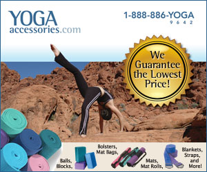 We guarantee the lowest prices on yoga supplies!
