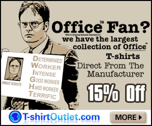 15% off TshirtOutlet Office Tees