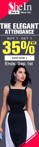 Buy one elegant look & save 35% off a second look at SheIn.com! Sale ends 9/1