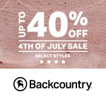 Backcountry.com Black Friday Sale