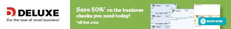 40% off 1st order of Checks, Deposit Tickets or Check Envelopes