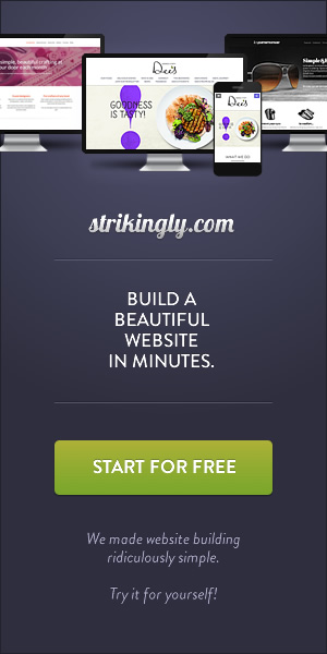 Strikingly - How to build a website in minutes
