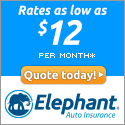 Quote today for rates as low as $12 per month!