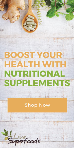 Boost your health with nutritional supplements - Shop now at Live Superfoods