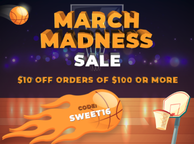 388x287 March Madness Coupon - Ends March 31st