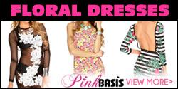 Shop for Floral Dresses at PinkBasis.com