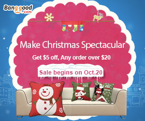 Get $5 OFF For Home and Garden Christmas Promotion