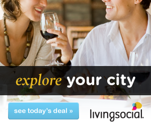 Save up to 70% on LivingSocial deals!
