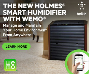 NEW Holmes Smart Humidifier with WeMo