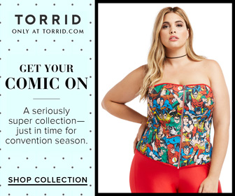 Get Your Comic On- Shop our Cosplay Collection at Torrid.com!